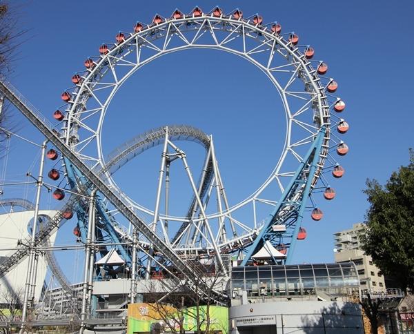 東京ドームシティ大観覧車画像